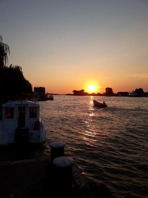 @adrian Ville de Sulina au bord du Delta du danub
